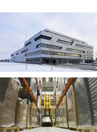 Medac centro de Produção e Logística